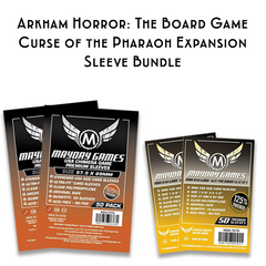 Card Sleeve Bundle: Arkham Horror™: The Board Game, Curse of the Dark Pharaoh Expansion