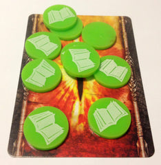 The Lord of the Ring LCG Lore Tokens (set of 10) - Top Shelf Gamer