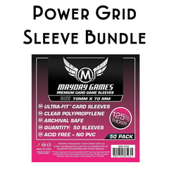 Card Sleeve Bundle: Power Grid™