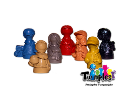 Twinples compatible with Pandemic™ On The Brink (set of 7)