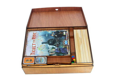Storage Box compatible with Ticket to Ride