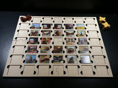Forbidden Desert or Forbidden Island laser cut game board to hold the tiles in place - Top Shelf Gamer - 1