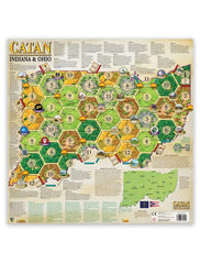 Catan Geographies: U.S.A. - Indiana - Ohio [clearance] - Top Shelf Gamer