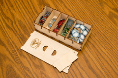Short Bits Box for Sleeved Card Game Organizer - Top Shelf Gamer - 1