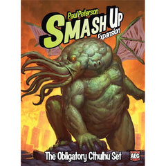 Smash Up: The Obligatory Cthulhu Set - Top Shelf Gamer