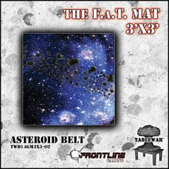F.A.T. Mat Asteroid Belt 3x3' - Top Shelf Gamer