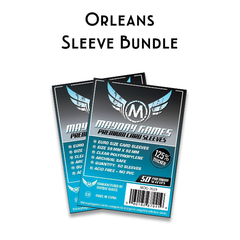 Card Sleeve Bundle: Orleans™