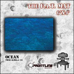F.A.T. Mat: Ocean 6x4' [clearance] - Top Shelf Gamer