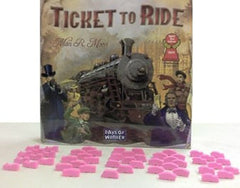 Pink Train Set (set of 50) - Top Shelf Gamer