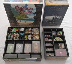 Robinson Crusoe™ (Portal 2nd Edition) & the Voyage of the Beagle Foamecore Insert (pre-assembled)