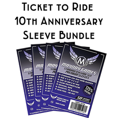 Card Sleeve Bundle: Ticket to Ride™, 10th Anniversary