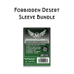 Card Sleeve Bundle: Forbidden Desert