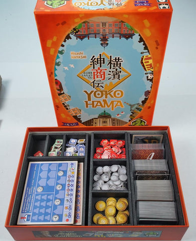 Yokohama (Retail version) foamcore insert (pre-assembled)