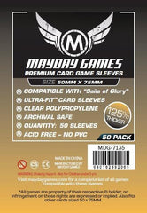 "PREMIUM Mayday ""Sails of Glory"" Card Sleeves 50 x 75mm (set of 50) - Top Shelf Gamer"