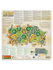 Catan Geographies: U.S.A. Pennsylvania, New Jersey [clearance] - Top Shelf Gamer