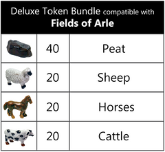 Deluxe Token Bundle compatible with Fields of Arle (set of 100)