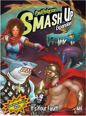 Smash Up: It's Your Fault - Top Shelf Gamer