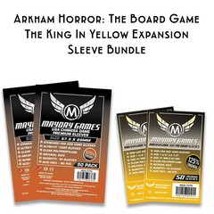 Card Sleeve Bundle: Arkham Horror™: The Board Game, The King in Yellow Expansion