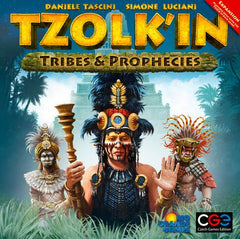Tzolk'in The Mayan Calendar: Tribes and Prophecies [clearance] - Top Shelf Gamer