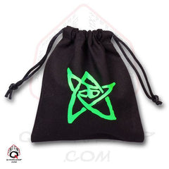 "4.25"" x 4.5"" Call of Cthulhu Bag - Black - Top Shelf Gamer"