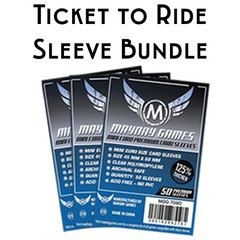 Card Sleeve Bundle: Ticket to Ride™