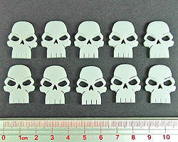 White Skull Tokens (set of 10)
