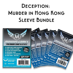 Card Sleeve Bundle: Deception: Murder in Hong Kong™