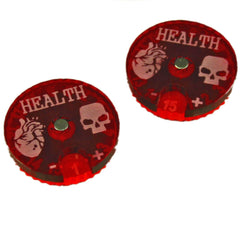 Cthulhu Health Dials (2) - Top Shelf Gamer - 1