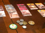 Metal Coins Compatible with 7 Wonders Duel™ (set of 31)