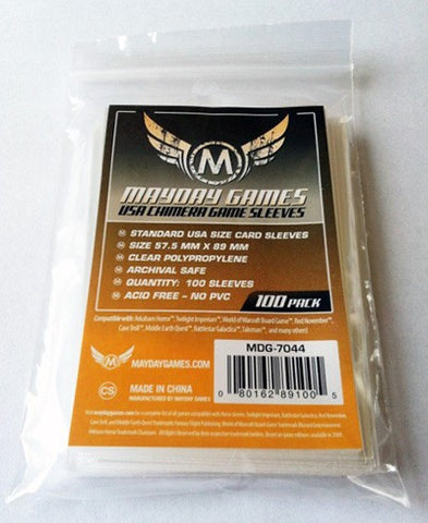 Mayday USA Chimera Card Sleeves: 57.5 x 89mm (set of 100) [clearance]