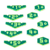Place Holder Token Set - Yellow (set of 10)