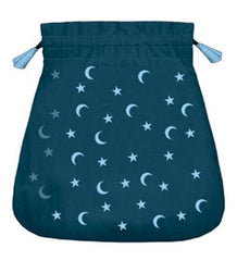 Moon and Stars Velvet Bag - Top Shelf Gamer