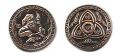 Magic Copper Coins (set of 10) - Top Shelf Gamer