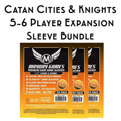 Card Sleeve Bundle: Catan™ Cities & Knights with 5-6 Player Extension