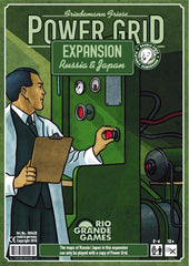 Power Grid Expansion: Russia/Japan [clearance] - Top Shelf Gamer