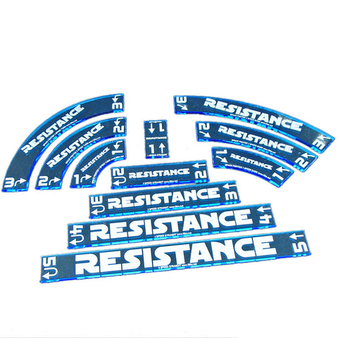 Maneuver Gauge Set - Resistance (set of 11)