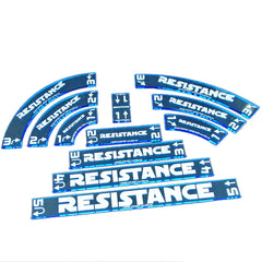 Maneuver Gauge Set - Resistance (set of 11) - Top Shelf Gamer - 1