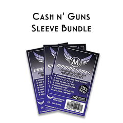 Card Sleeve Bundle: Cash n' Guns ™