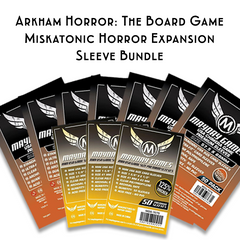 Card Sleeve Bundle: Arkham Horror™: The Board Game, Miskatonic Horror Expansion