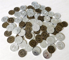Royal Metal Coins (set of 50) - Top Shelf Gamer