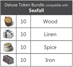 Seafall™ compatible Deluxe Token Bundle (set of 40)