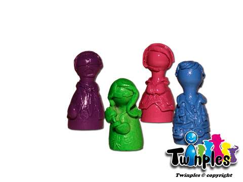 Twinples compatible with Pandemic In The Lab (set of 4)