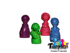Twinples compatible with Pandemic™ In The Lab (set of 4)
