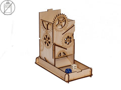 Dice Tower - Steam Punk Box - Top Shelf Gamer