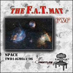 F.A.T. Mat: Space 6x4' [clearance] - Top Shelf Gamer