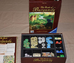 Castles of Burgundy Foamcore Insert (pre-assembled) - Top Shelf Gamer - 1