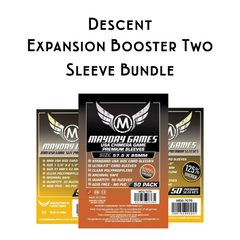 Card Sleeve Bundle: Descent™: Expansion Booster Two