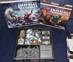 Imperial Assault II Foamcore Insert (pre-assembled) - Top Shelf Gamer - 1