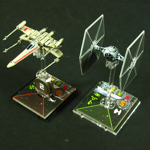 Space Fighter, Deluxe Flight Stand [clearance]