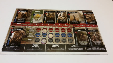 Blood Rage™ Overlay (for Core Set disks)